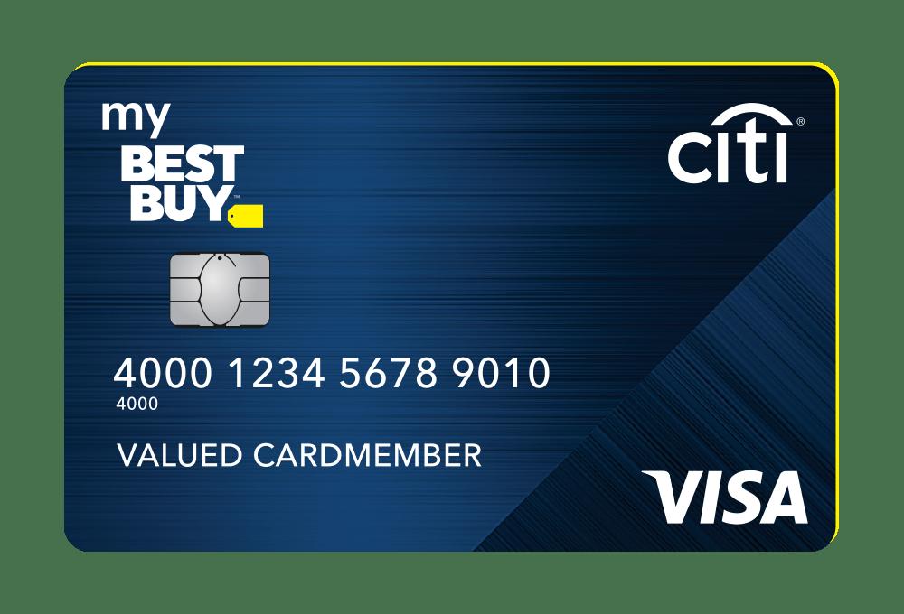 My Best Buy Visa Credit Card is a credit card full of