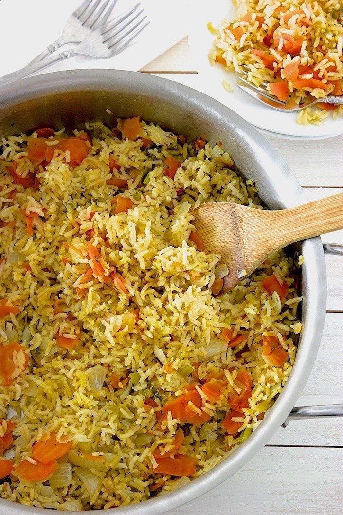 The Best Organic Rice Pilaf Recipe