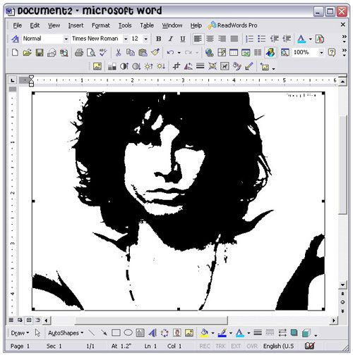 How To Make Stencils In Microsoft Word | Craft Ideas | How