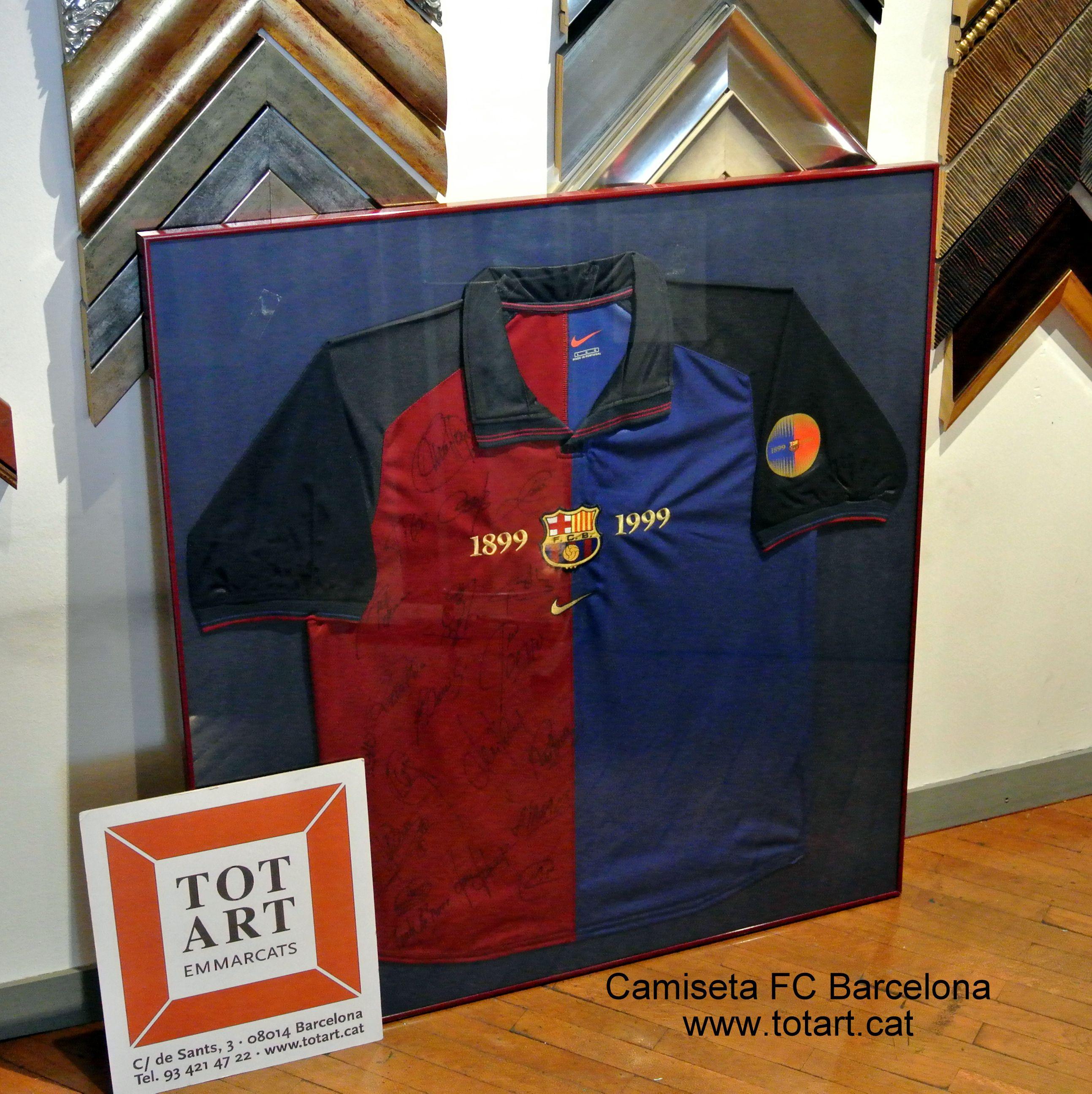camiseta de futbol del FC Barcelona \