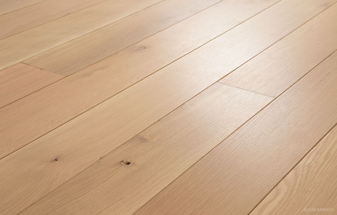 Wide Plank White Oak Hardwood Floor By Oak And Broad Rift And Quarter Sawn Pre Finished With 5 White Eco F Hardwood Floors Flooring White Oak Plank Floors