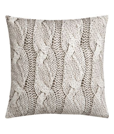 Product Detail H M Us Fall Winter Pillows Winter Pillows H M Home Cushion Cover