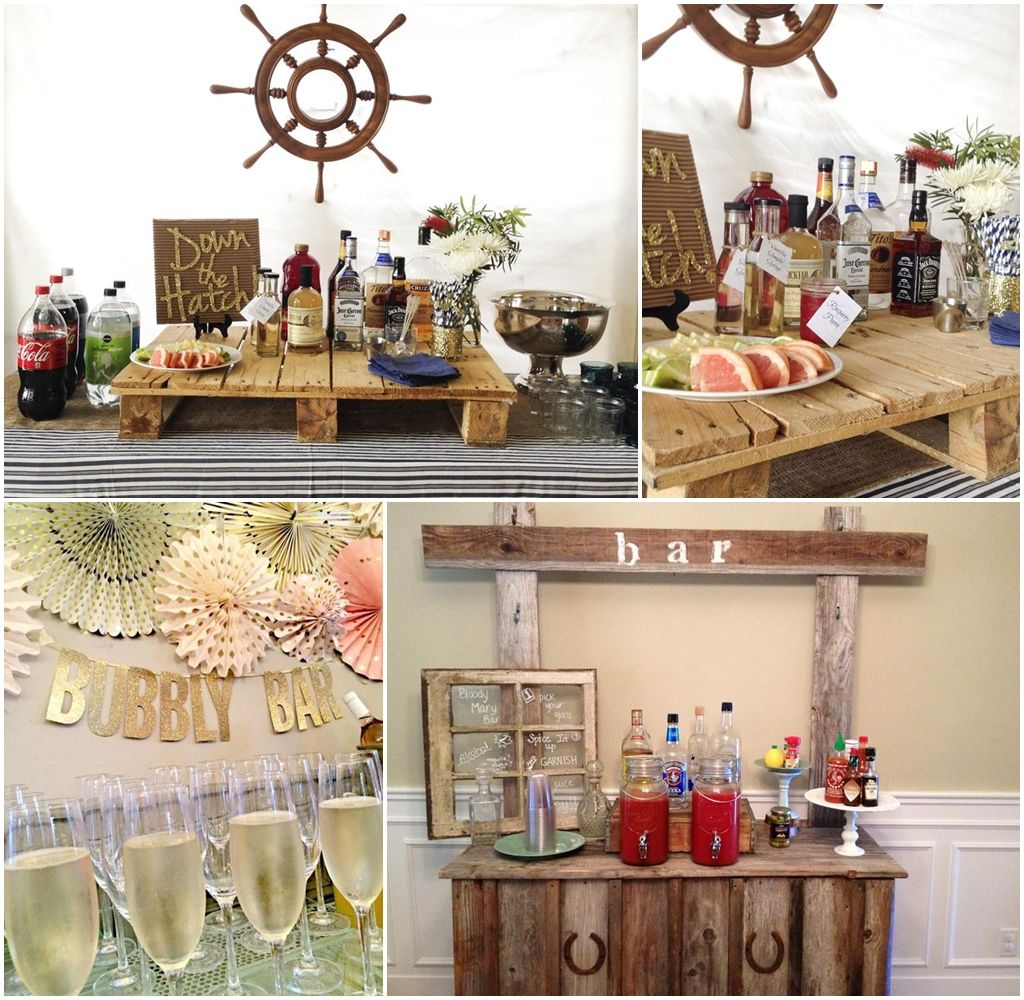 Stock The Bar Party Decoration Ideas Crafts Projects Pinterest