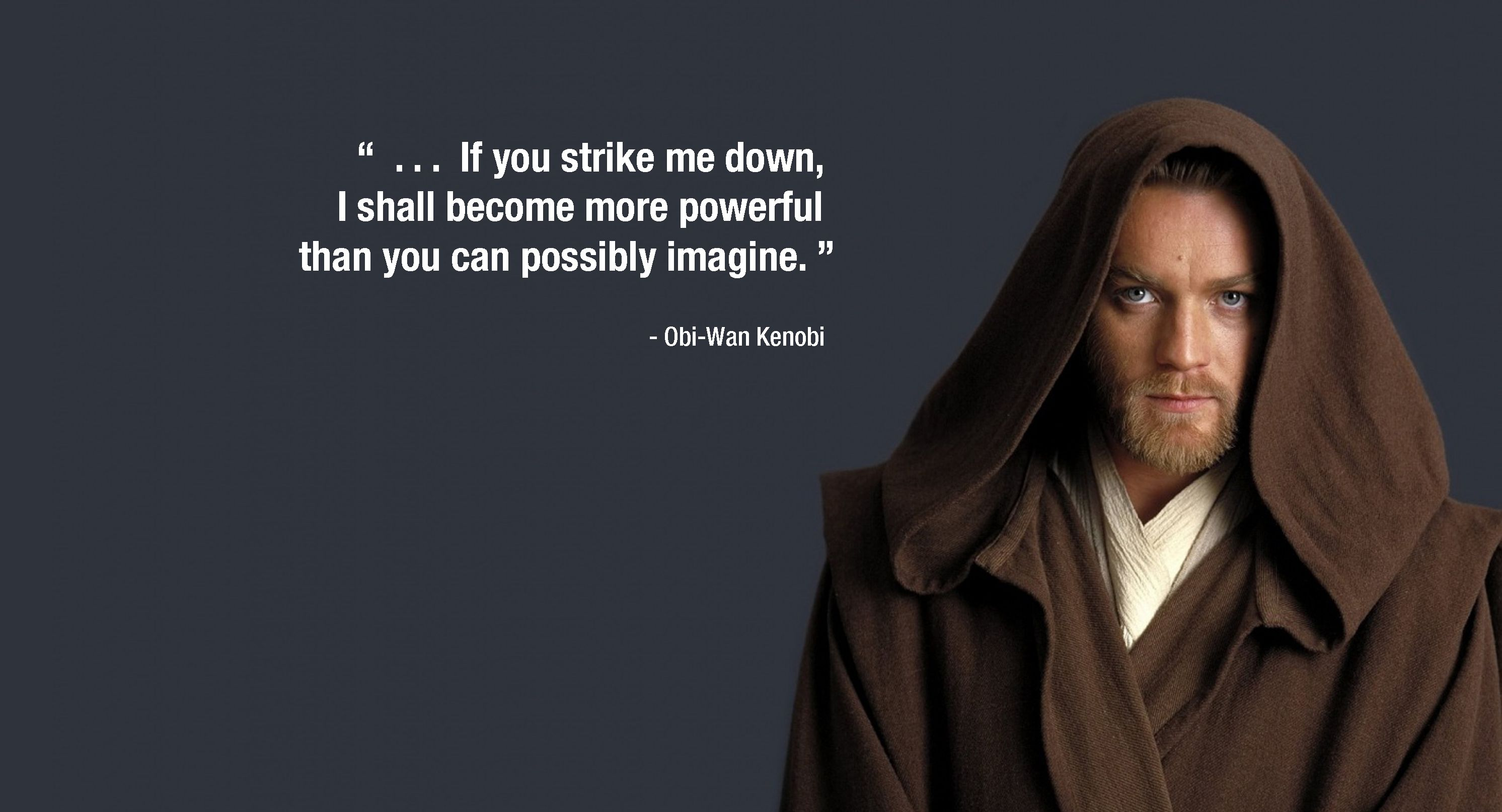 Obi Wan Fights Darth Vader In A New Hope Full Sentence You Cant