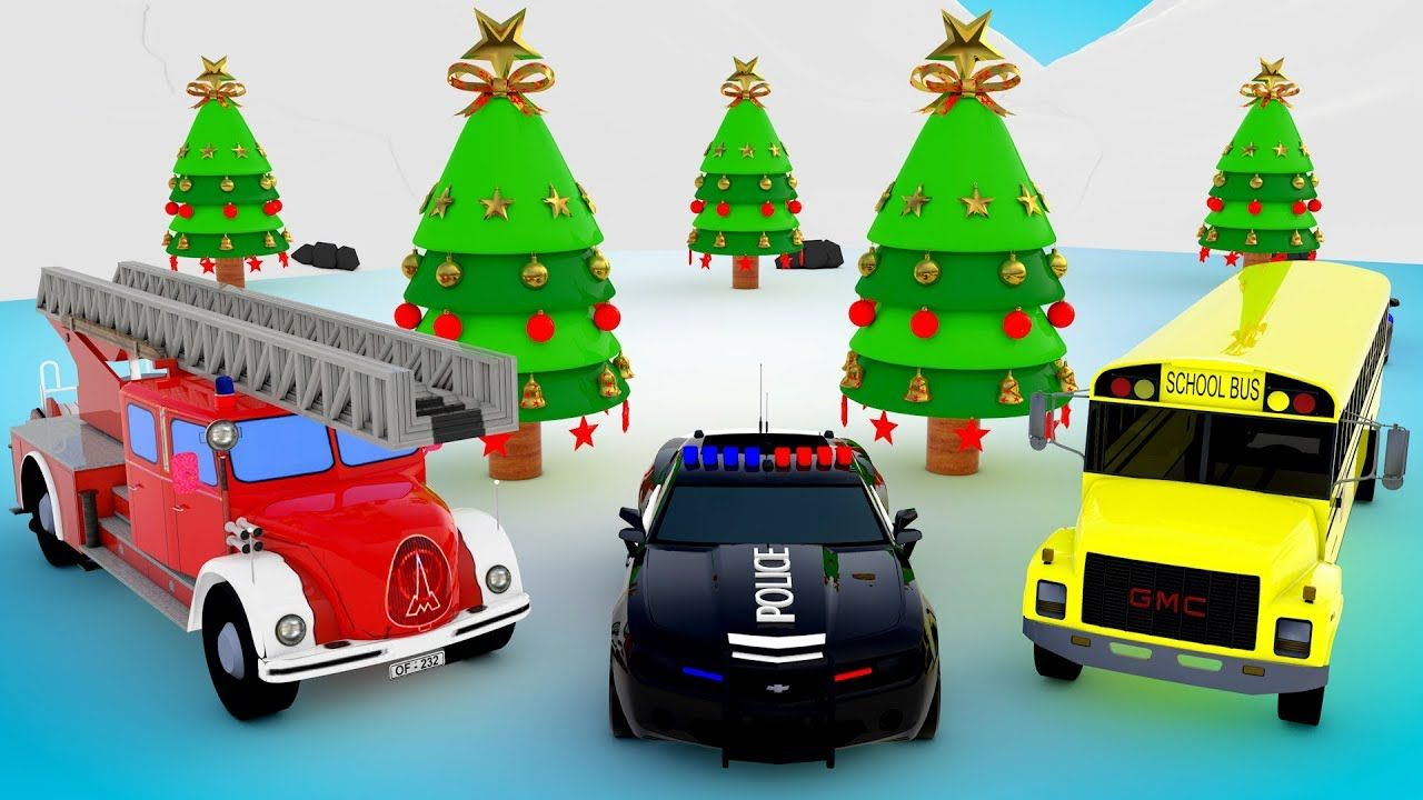 Learn Colors for Children with Emergency Street Vehicles for Kids ...