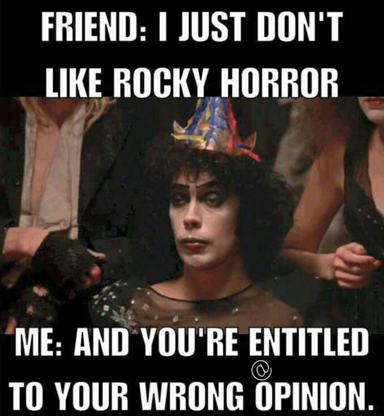Rocky Horror Picture Show meme | Horror Memes in 2019 ...