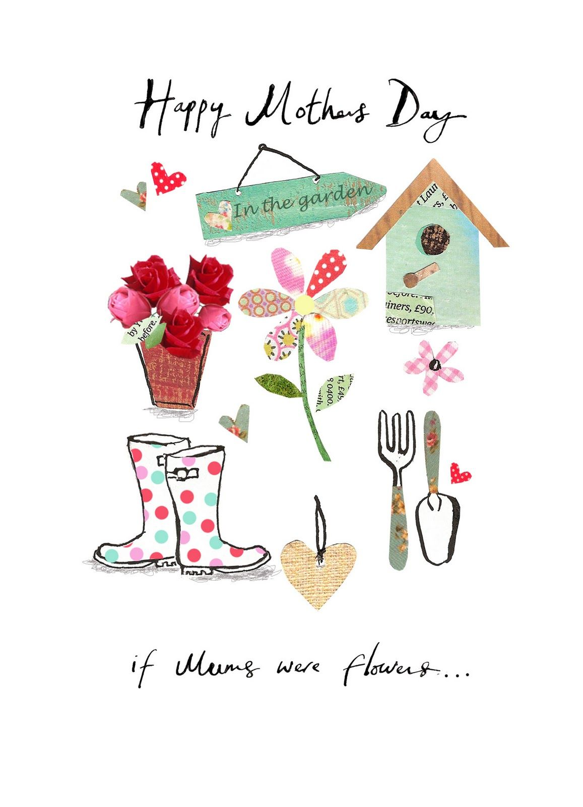 Clare fennell illustration mothers day card in marks and clare fennell illustration mothers day card in marks and spencers kristyandbryce Image collections