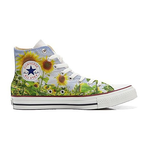 Converse All Star CUSTOMIZED, Sneaker Unisex, printed Italian style with soldier - size 44 EU Mys
