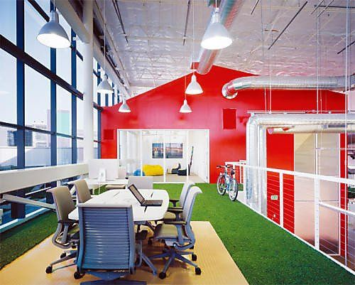 When It Comes To The Coolest Office In World, Google Wins Top Prize  O