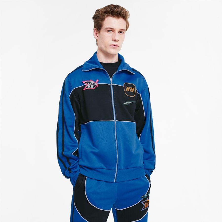 Photo of PUMA x Rhude Herren Trainingsjacke in Palace Blue Größe 2X groß