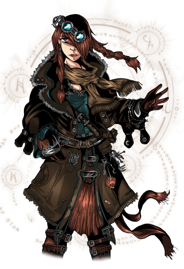 steampunk gnome female - Google Search | Fantasy Art ...
