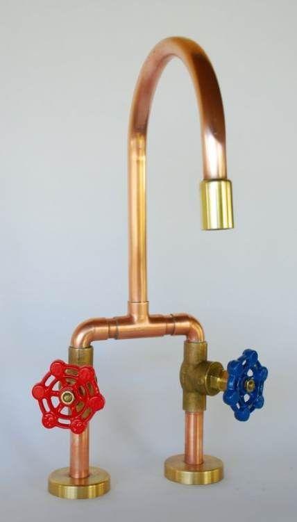 Diy Kids Kitchen Faucet 38 Ideas Rustic Kitchen Faucets Modern Rustic Kitchen Rustic K In 2020 Faucets Diy Diy Kids Kitchen Copper Faucet