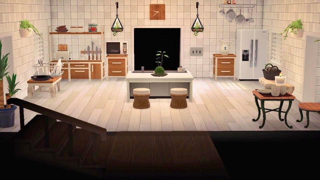 My version of the ever popular ironwood kitchen ... on Ironwood Kitchenette Animal Crossing  id=21197