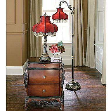 Delightful Dale Tiffany Victorian Table U0026 Floor Lamps   Jcpenney