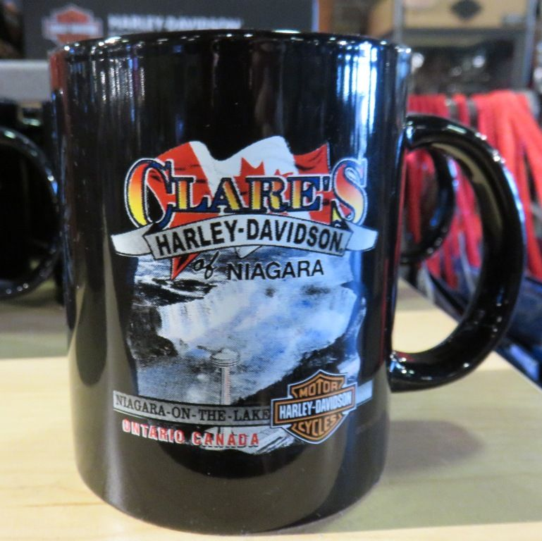 Clares harleydavidson mug niagara falls canada