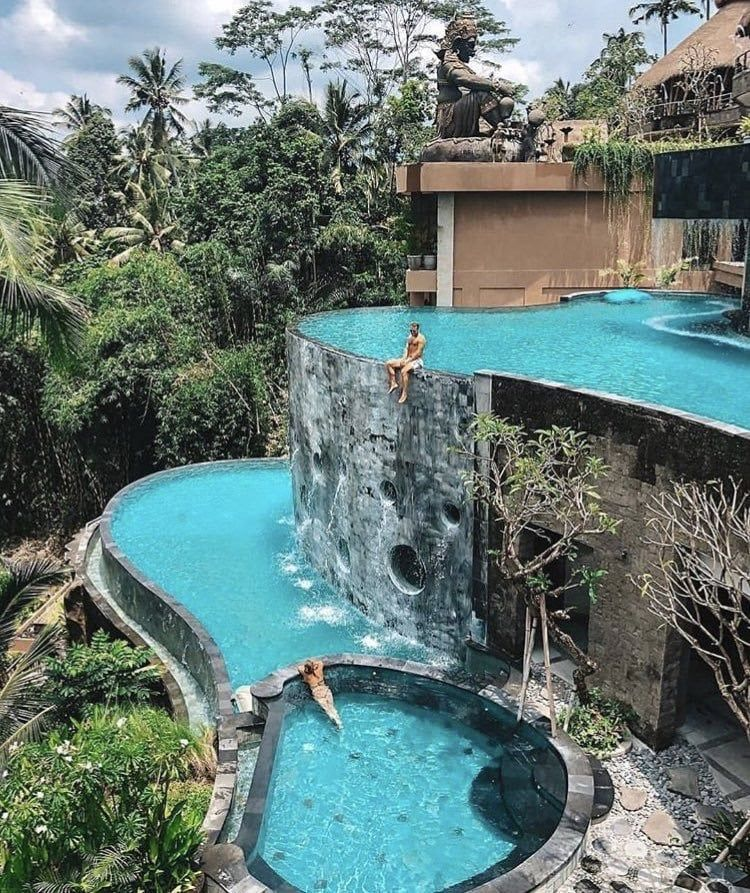 The Kayon Jungle Resort  Bali  | travel | relax | take a break | Happy | enjoy | hiking | free time | country | see the world | hotel | comfort | destinations