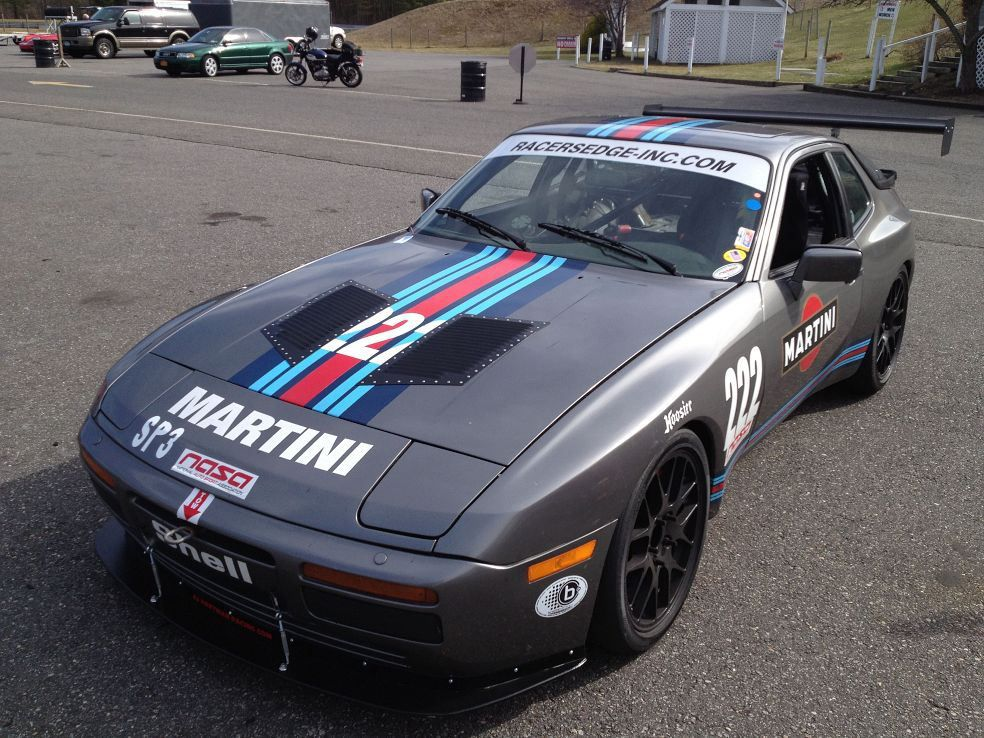 1987 Porsche 944 Turbo Race Car - Fast In Fast Out | Fast In Fast ...