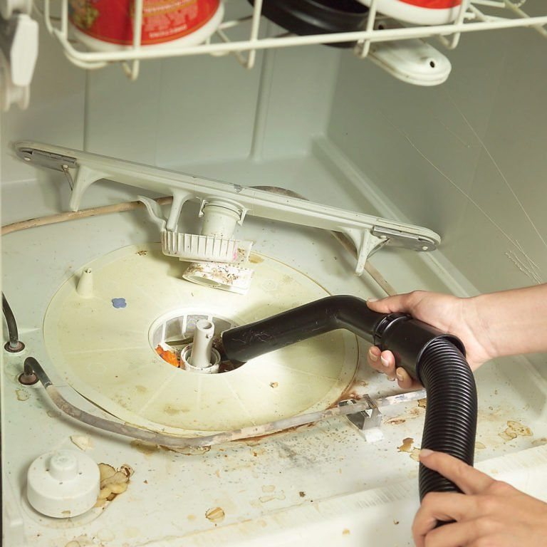 how to clean dishwasher drain filter