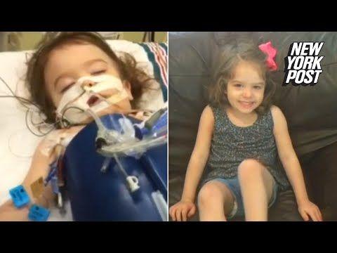 hyperbaric oxygen chamber reverses brain damage in toddler
