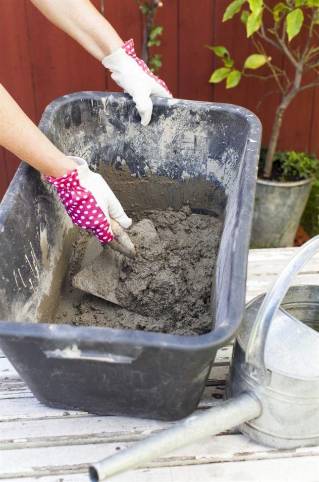 blanda cement själv