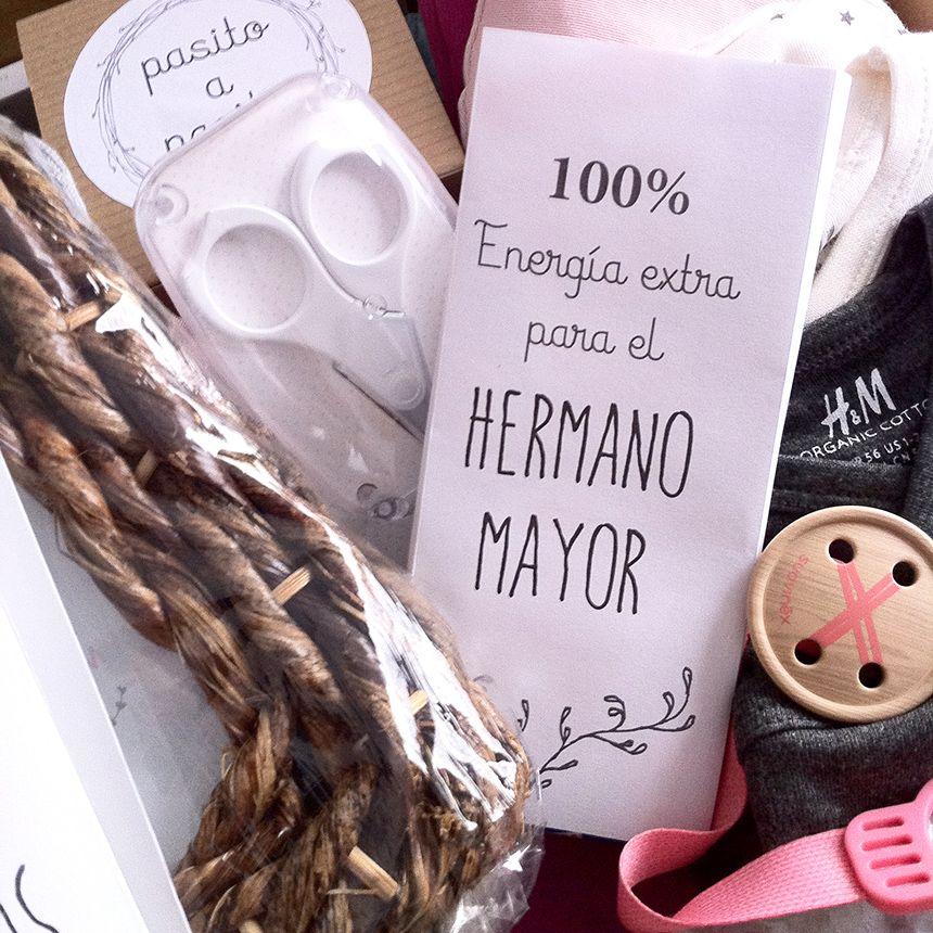 Caja personalizada Rosa y Gris by New Baby http://www.iunacreations.com/?p=4374