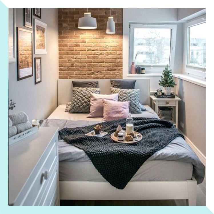 10 Ideas Para Decorar Y Organizar Todo Tu Departamento Pequeno Dormitorios Habitaciones Pequenas Decorar Habitacion Pequena