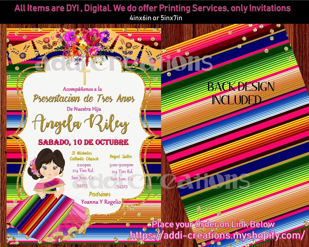 f9c42f2e4 Mexican Theme Birthday Invitations