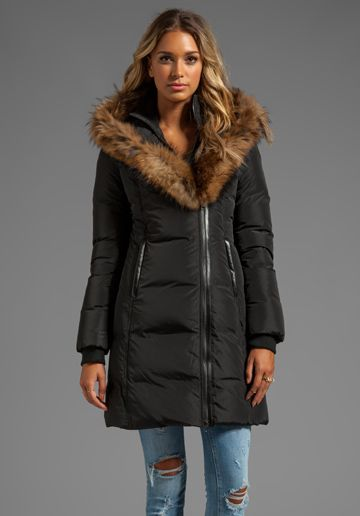 710fb301cbb7 MACKAGE Kay Lavish Down Coat in Black - Mackage