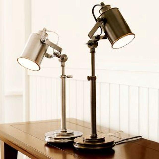 Pottery Barn Photographer S Task Lamp Office Table Lamp