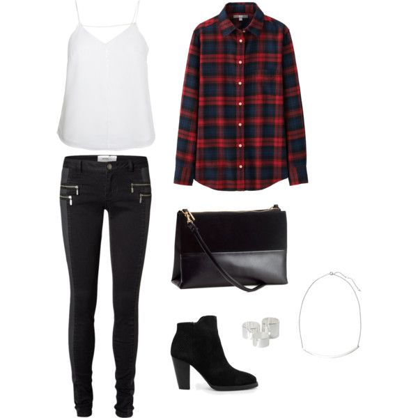 I Dreamt of: Leather & Plaid