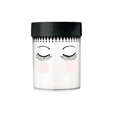 """Large """"closed Etoile Giftsamp; Eyes"""" Canister Storage Miss Pieces – UVMLSGzpq"""