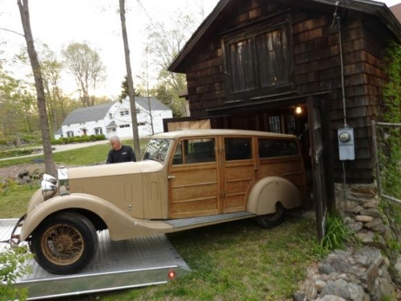 1932 Rolls Royce 20 Shooting Brake Wood Panel Barn Find For Sale