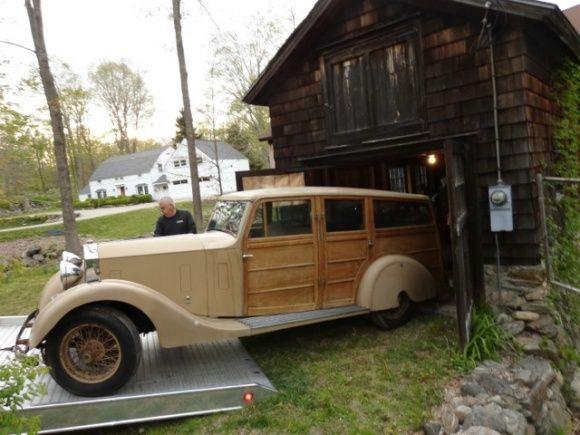 1932 Rolls Royce 20 Shooting Brake Wood Panel Barn Find For Sale