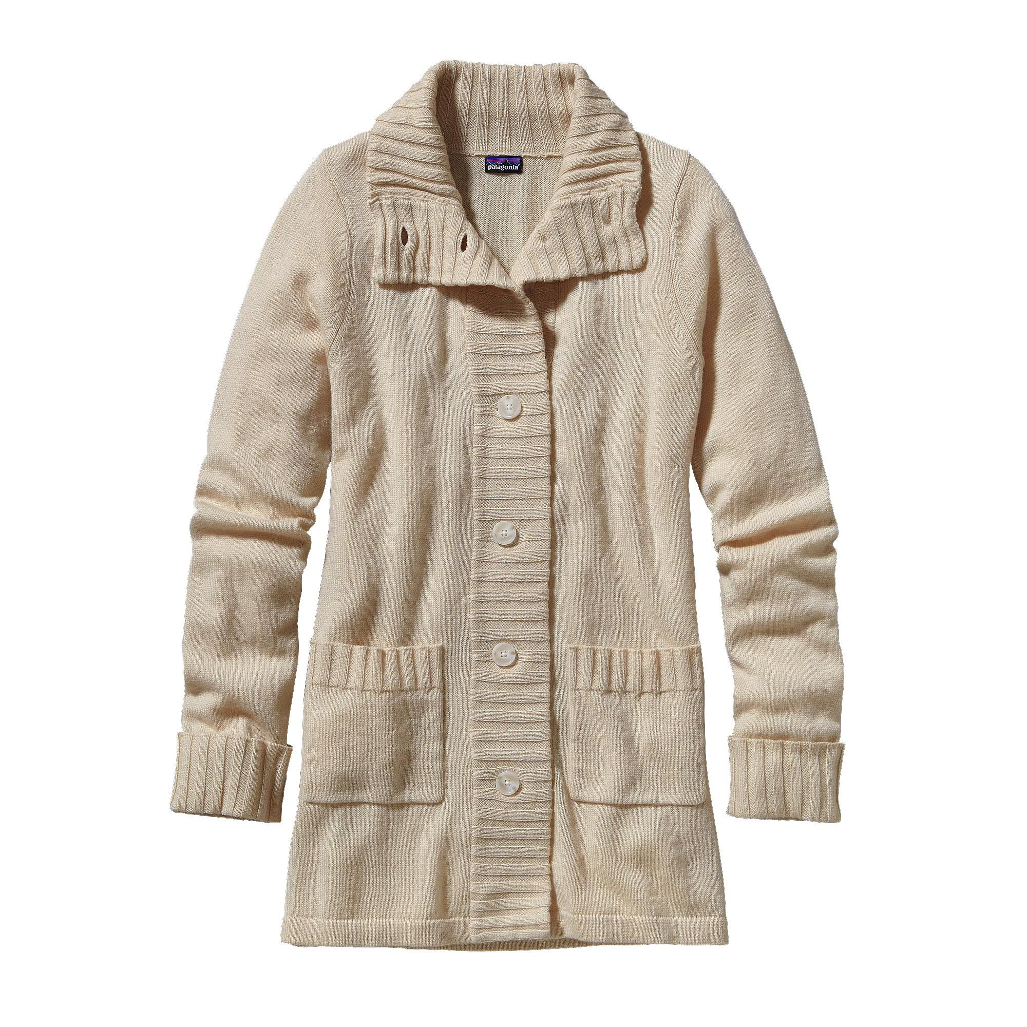 Patagonia Women's Lambswool Sweater Coat - Our soft merino wool ...