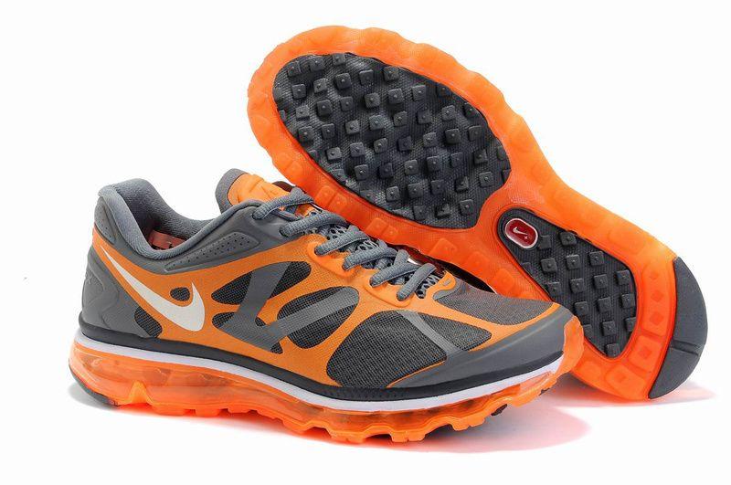62001e79020 Nike Air Max 2012 Mens Black Orange Grey Shoes On Sale -  62.98 airmax-onsales.com  Cheap On Sale