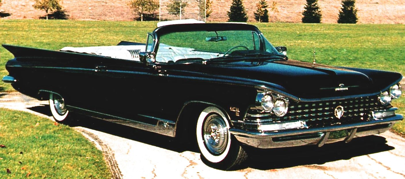 1959 buick electra 225 convertible in sable black