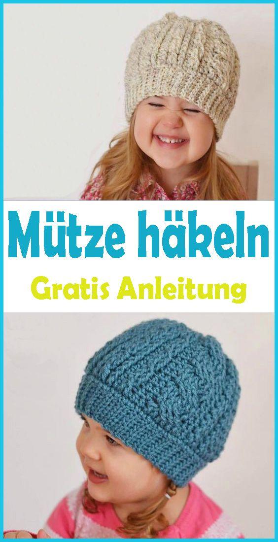 Photo of Mütze häkeln für Kinder – kostenlose & einfache Anleitung