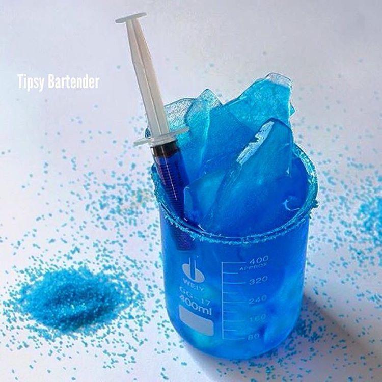 BREAKING BAD BLUE MARGARITA 4 oz. (120 ml) Tequila 2 oz. (60 ml ...