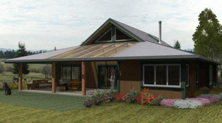 Casa rustica moderna planos de casas casas y casas de campo for Casa moderna rustica