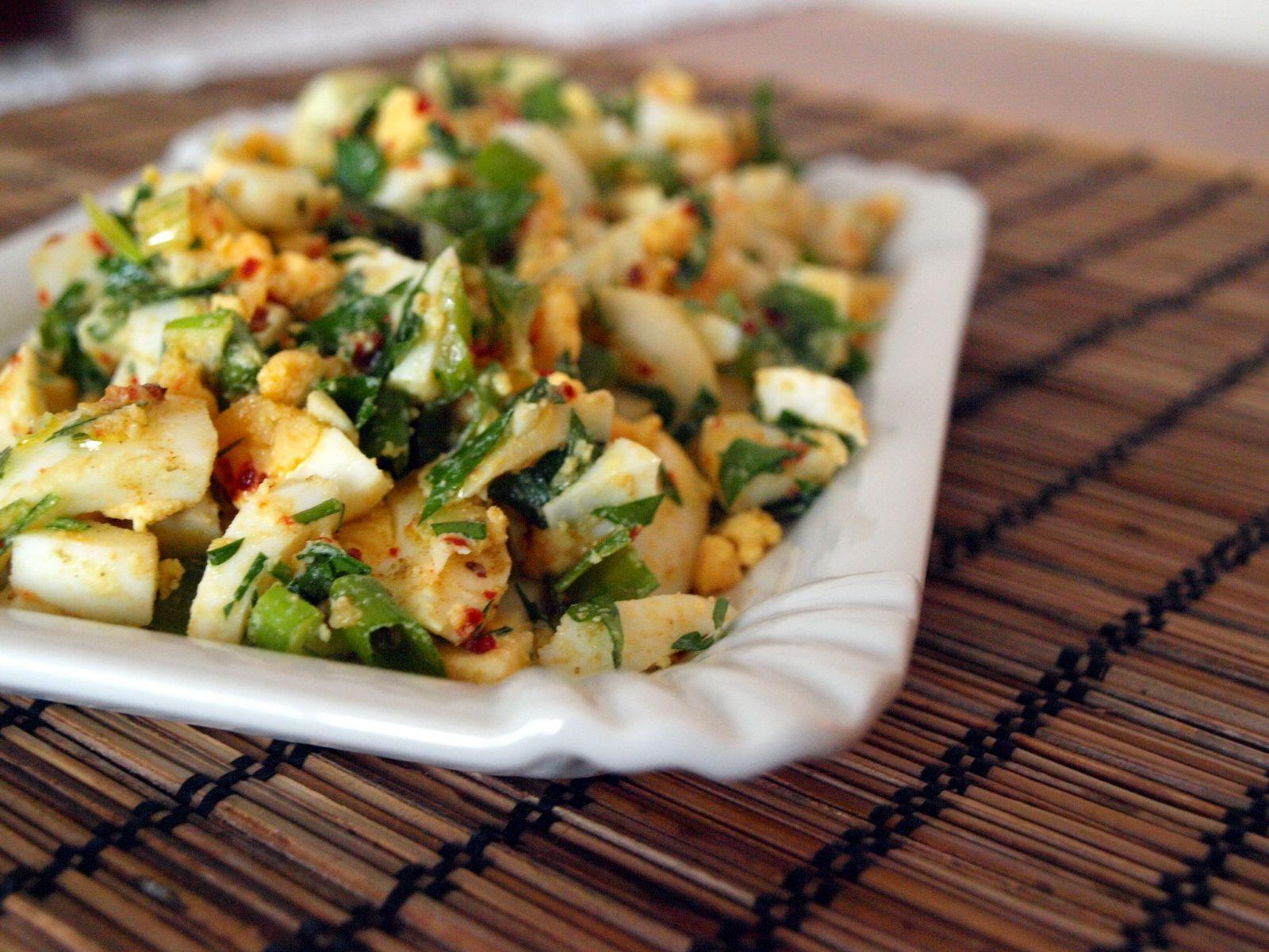 amazing turkish egg salad