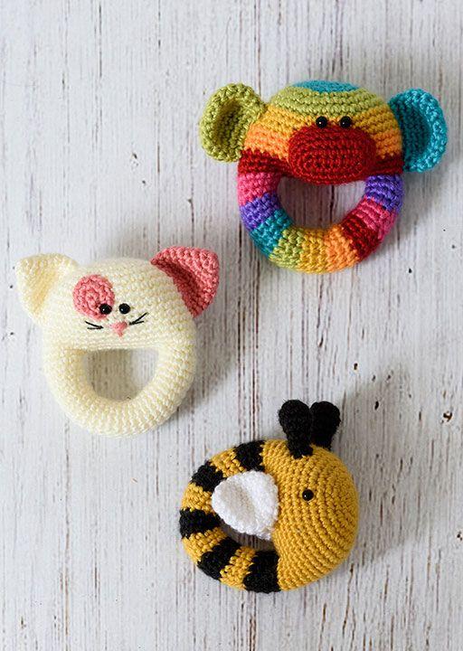 Sonajeros | POR CREAR | Pinterest | Croché, Ganchillo y Ganchillo bebe