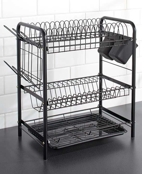 3 Tier Dish Racks With Images Cool Kitchen Gadgets New