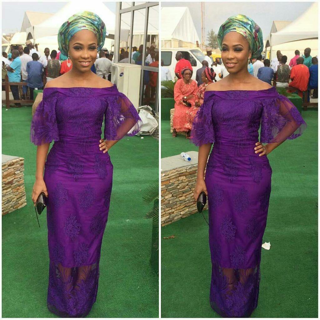 Strut the Event Hall in These Dashing Aso-Ebi Style Collections Carefully Selected Just for You - Wedding Digest Naija