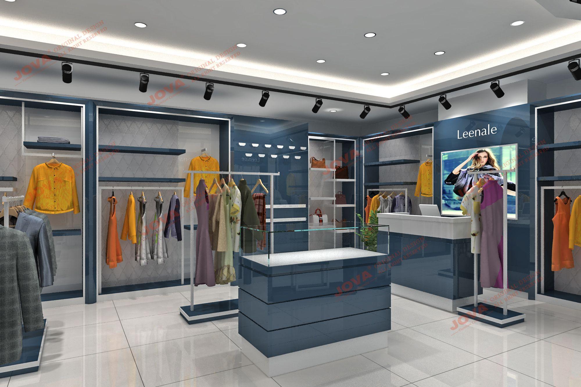 Display Small Cloth Shop Interior Design Ideas Home Interior Design