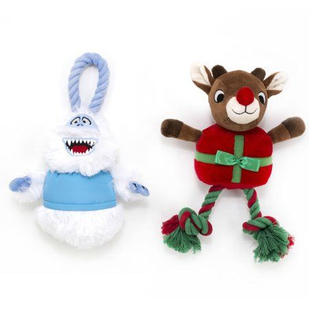 Pets Pet Toys Dog Toys Red Nosed Reindeer