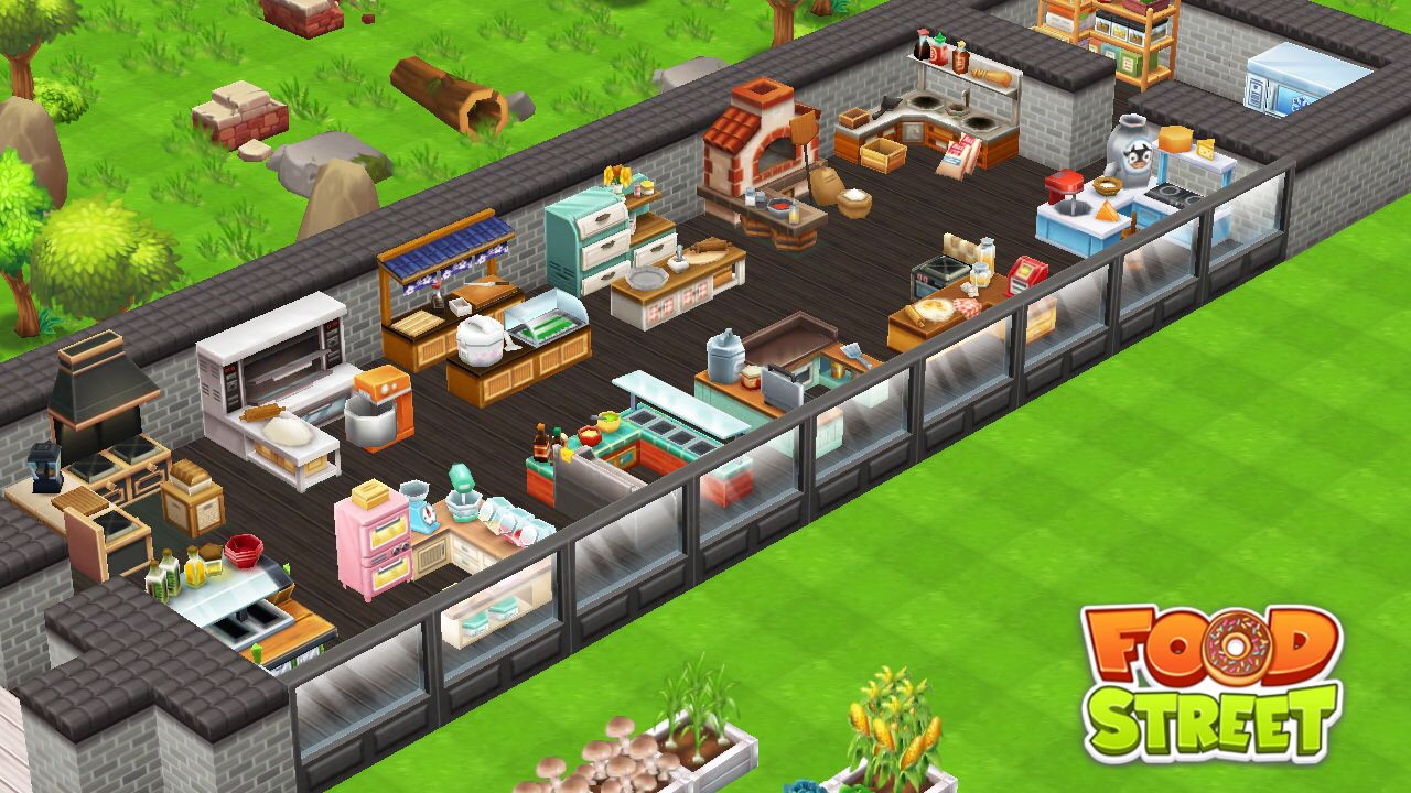 You should really download this app if you enjoy cooking or even Hay Day