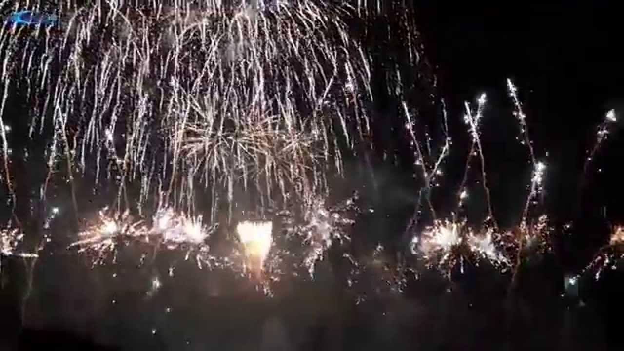 Feuerwerk olympiapark 2020