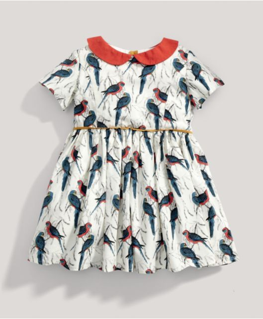 404d018fa Girls Limited Edition All-over Printed Bird Dress | bb + bb | Kids ...