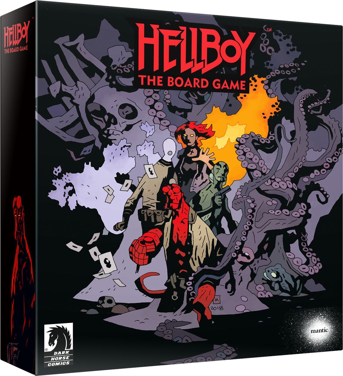 Dark Horse Kickstarts the Heck Out of Hellboy Board Game