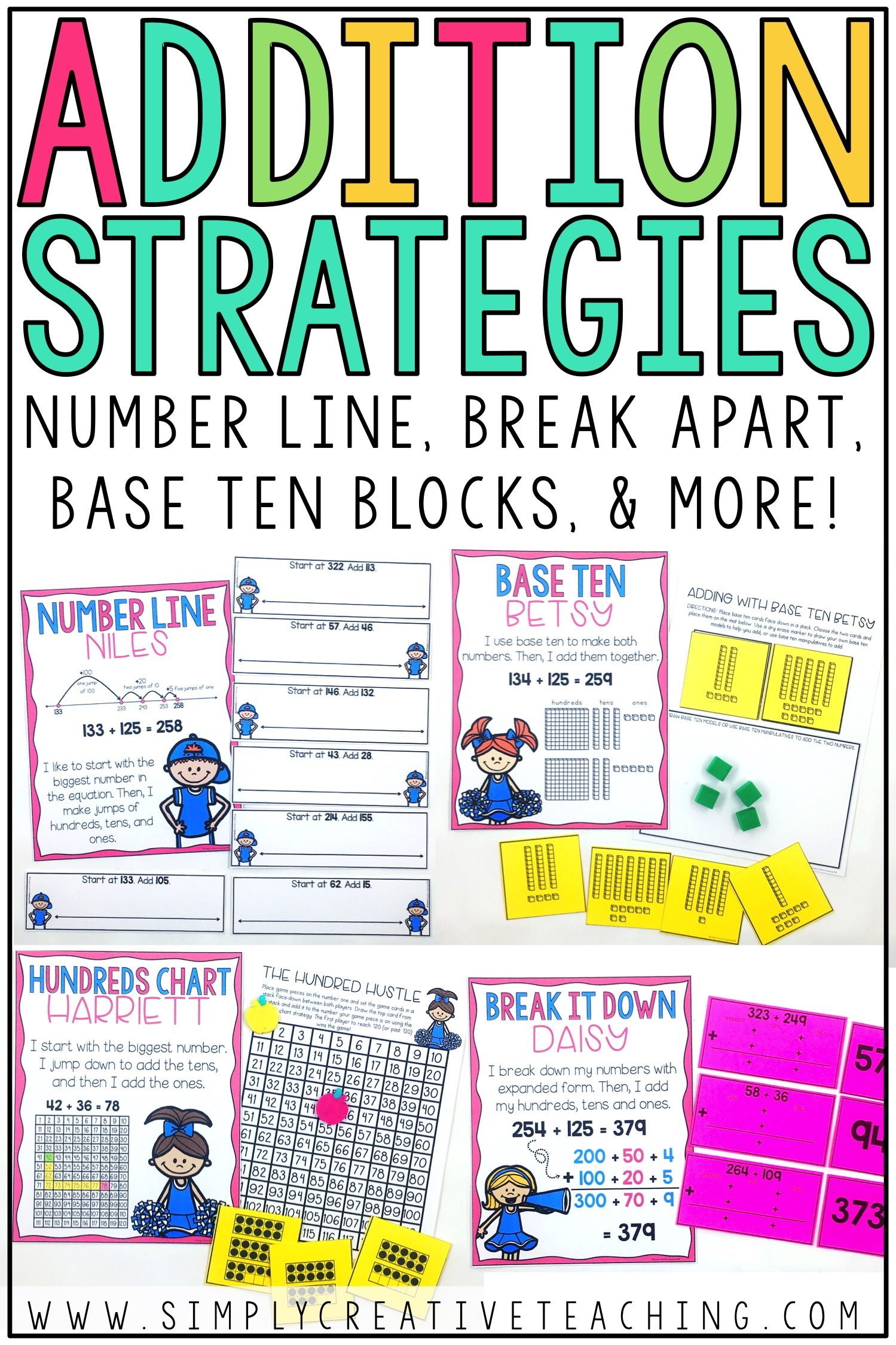 2 3 Digit Addition Strategies